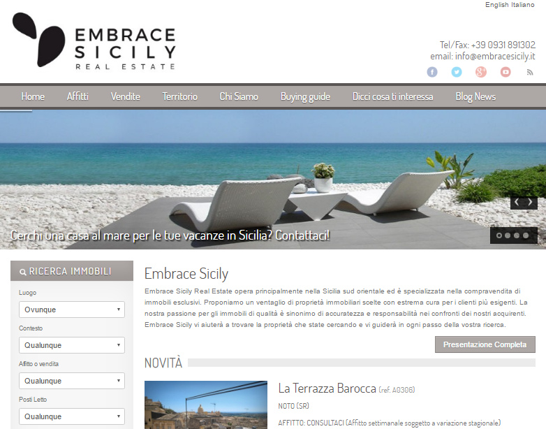 Embrace Sicily Real Estate