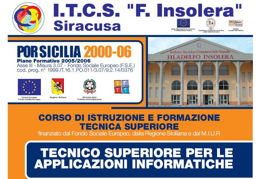 """Corso IFTS """"Tecnico Superiore per le Applicazioni Informatiche"""""""